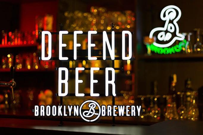 Brooklyn Brewery Defend Beer