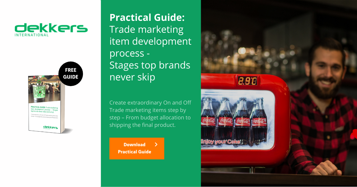 Practical guide: Stages of the trade marketing plan top brands never skip