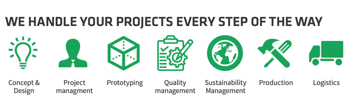 We handle your projects every step of the way